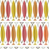 传染媒介五颜六色的摘要几何无缝的样式背景 皇族释放例证