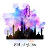 传染媒介假日例证Eid Al Adha 免版税库存图片
