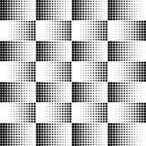 传染媒介加点中间影调 在白色背景的黑小点 圆的纹理 皇族释放例证