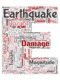 传染媒介地震活动信件字体E 向量例证