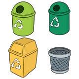 传染媒介套回收垃圾 库存照片
