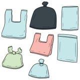 传染媒介套塑料袋 向量例证