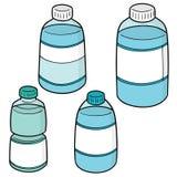 传染媒介套水瓶 库存照片