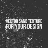 传染媒介您的设计的沙子纹理 免版税库存图片