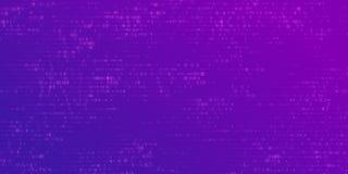 传染媒介抽象大数据形象化 数据蓝色流程当数字串 信息代码表示法 皇族释放例证