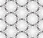 传染媒介摘要点刻法无缝的样式 Tileable几何被加点的难看的东西白色和黑背景 皇族释放例证