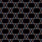 传染媒介无缝的小故障样式 在黑背景的颜色 三角格子花呢披肩元素 数字式映象点噪声摘要设计 库存例证