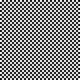 传染媒介无缝的方格的旗子样式 几何纹理 黑白背景 单色设计 库存例证