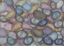 传染媒介无缝的纹理石头 免版税库存照片