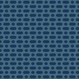 传染媒介最低纲领派无缝的样式 简单的水军蓝色加点了几何背景 皇族释放例证