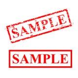 传染媒介样品,红色抓痕不加考虑表赞同的人 库存例证