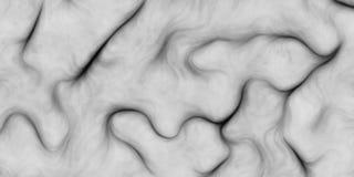 传染媒介火热的单色头发背景 不可思议的草或海藻 与卷曲的样式的抽象背景 com接地地球例证文本 库存例证