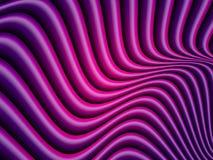 传染媒介紫罗兰色波浪背景 库存例证