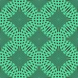 传染媒介绿色圈子无缝的样式 现代时髦的纹理 重复抽象背景 EPS10 皇族释放例证