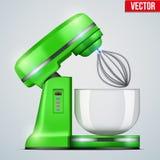 传染媒介绿色立场搅拌器 皇族释放例证