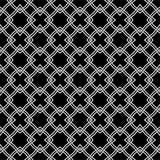 传染媒介美好的黑白无缝的样式 免版税库存图片