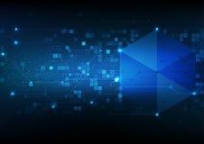 传染媒介背景摘要技术通信数据科学 图库摄影