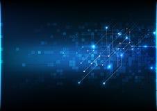 传染媒介背景摘要技术通信数据科学 免版税库存图片