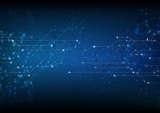 传染媒介背景摘要技术通信数据科学 免版税库存照片