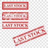 传染媒介设置了红色不加考虑表赞同的人,在透明作用背景的前个股票 库存例证