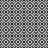 传染媒介黑白反复性菱形设计创造和独特的样式 向量例证