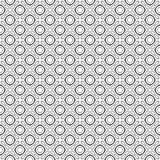 传染媒介黑白色重复设计 免版税库存图片