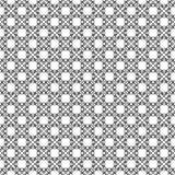 传染媒介黑白色重复设计 库存照片