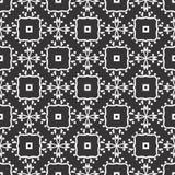 传染媒介黑白色重复设计 库存图片