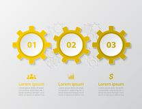 传染媒介infographic模板 免版税图库摄影