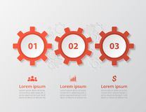传染媒介infographic模板 库存例证