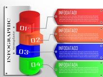 传染媒介infographic模板 向量例证