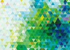 传染媒介三角样式背景设计 图库摄影