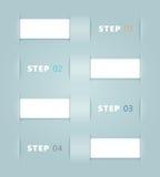 传染媒介丝带步设计 免版税库存图片