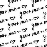 传染媒介书法 手拉的字法海报 浪漫主题 库存图片