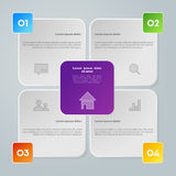 传染媒介五颜六色的图 免版税图库摄影