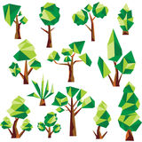 传染媒介低多树和仙人掌 库存图片