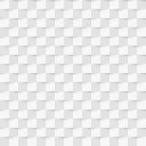 传染媒介例证无缝的样式3d纸长方形 免版税库存图片