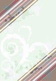 传染媒介例证用不同的壁角颜色 免版税库存图片