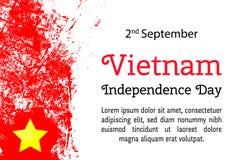 传染媒介例证越南美国独立日 库存图片