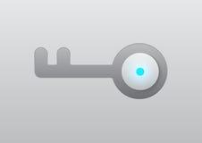 传染媒介关键安全象例证设计 免版税库存图片