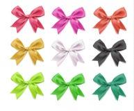 传染媒介典雅的bowtie 现实色的3d设计元素 库存图片