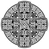 传染媒介凯尔特十字架 库存照片