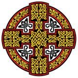 传染媒介凯尔特十字架 库存图片