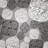 传染媒介凯尔特标志设计标志元素摘要结象tatt 皇族释放例证