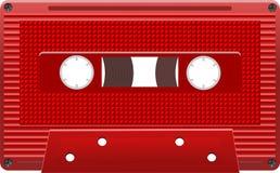 传染媒介卡型盒式录音机eps8 图库摄影