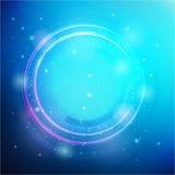 传染媒介圆的框架 光亮的圈子横幅 免版税库存图片