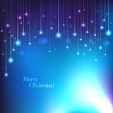 传染媒介圣诞卡 免版税库存图片