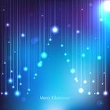 传染媒介圣诞卡 免版税库存照片