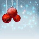 传染媒介圣诞晚会设计模板 向量例证EPS10 库存例证