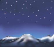 夜风景 库存照片